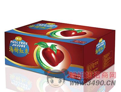 满树红枣果汁饮料380mlx15瓶