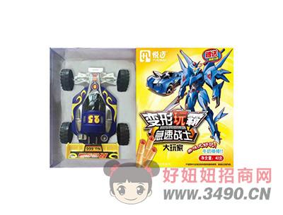 变形玩霸原味+多款玩具40gX40盒(黄+蓝)