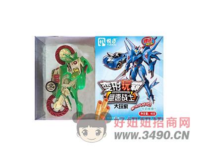 变形玩霸原味+多款玩具40gX40盒(摩托)