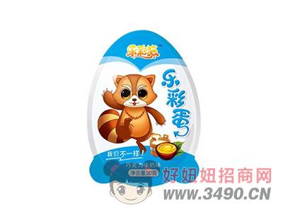 乐彩蛋系列巧克力牛奶味+多重玩具20gX18个X6盒