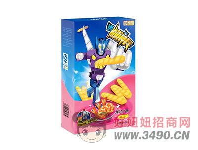鲜虾条原味+多款玩具50g(36盒/箱)
