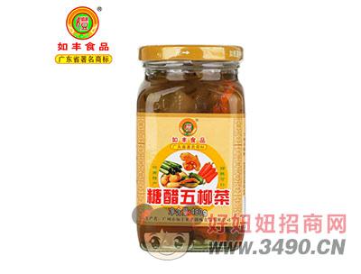 如丰--糖醋五柳菜480g