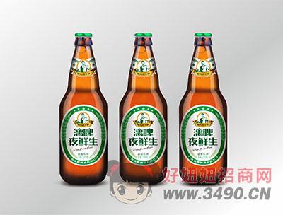 漓啤夜鲜生精酿鲜啤520ml(瓶装)