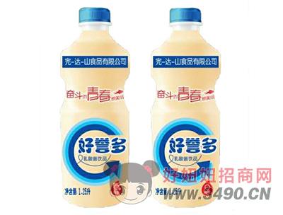 完-达-山好誉多乳酸菌饮品1.25L
