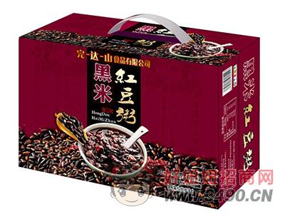 完-达-山黑米红豆粥礼盒