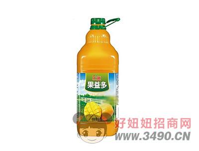 汇源果益多芒果复合果汁饮料2.5L