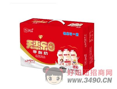 天惠乐园零脂肪乳酸菌lehu国际app下载原味100mlX30瓶