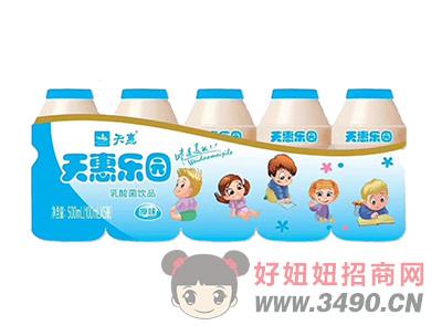 天惠乐园乳酸菌lehu国际app下载原味100mlX5瓶