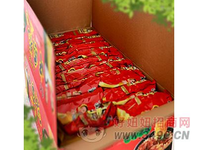 富龙中国龙猪骨汤味面箱装