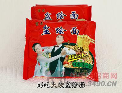 富龙盆绘面猪骨汤炖面 130g
