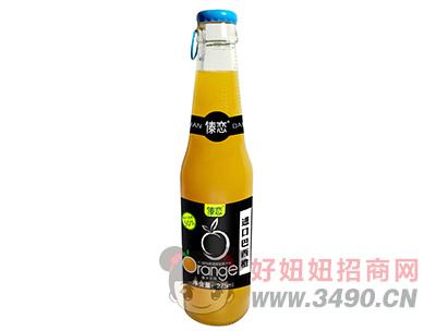 傣恋巴西进口橙橙汁饮料275ml
