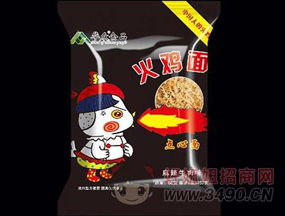 �A�食品麻辣牛肉味火�u面60g