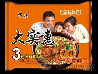 �A�大��惠香辣牛肉面232g
