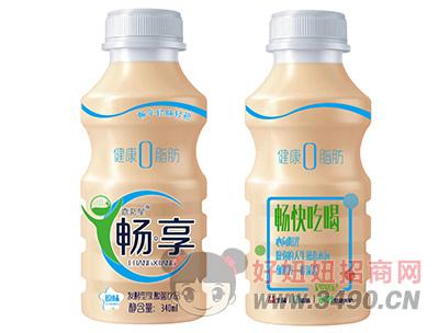 嘉茗星畅享原味发酵型乳酸菌饮品340ml
