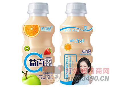 简畅益百添乳酸菌饮品340ml