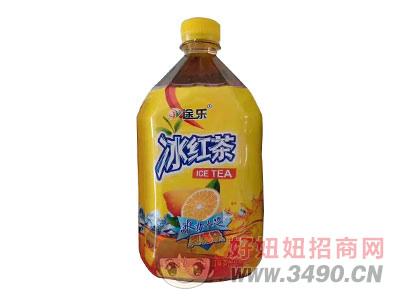 途乐冰红茶1l