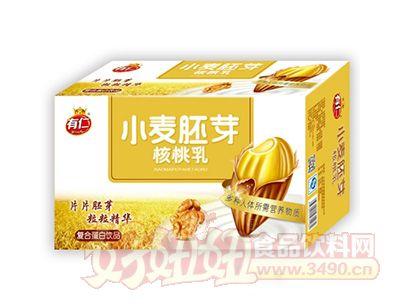 有仁小麦胚芽核桃乳箱装