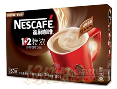 雀巢1+2特浓速溶咖啡饮品