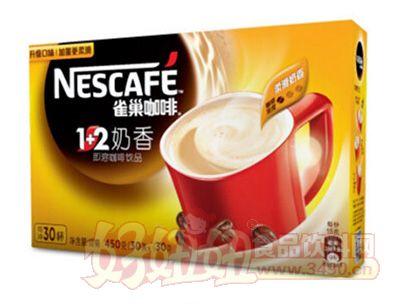 雀巢1+2奶香速溶咖啡饮品
