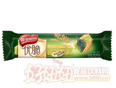 雀巢优脆滋味真海苔麦谷威化饼干