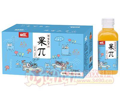 好梦果π蜂蜜菠萝汁500ml×15瓶