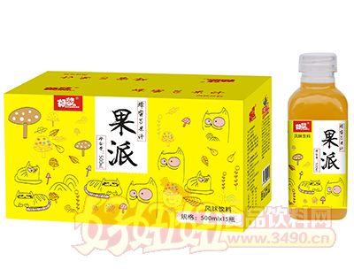 好梦果派蜂蜜芒果汁500ml×15瓶