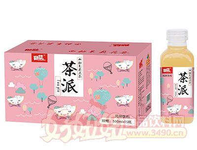 好梦茶派西柚茉莉花茶500ml×15瓶