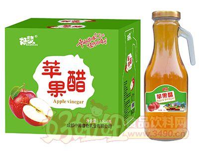 好梦苹果醋1.5L×6瓶(手柄玻璃瓶)