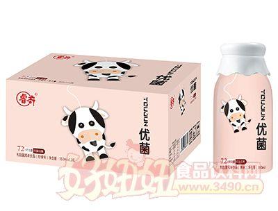 睿奇优菌柠檬味乳酸菌风味饮品360ml×12瓶