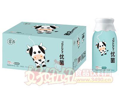 睿奇优菌原味乳酸菌风味饮品360ml×12瓶