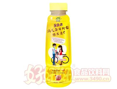 果爱康致青春维生素补水液450ml黄