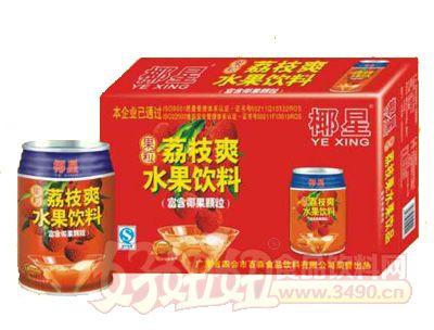 椰星荔枝爽水果饮料250gx12x20x24罐
