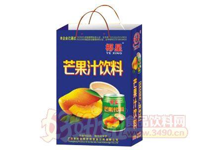 椰星芒果汁饮料250ml×24罐手提袋