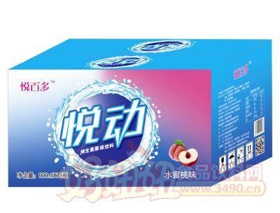 悦百多水蜜桃味维生素果味饮料600mlX15