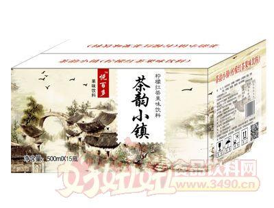 悦百多柠檬红茶果味饮料500mlX15
