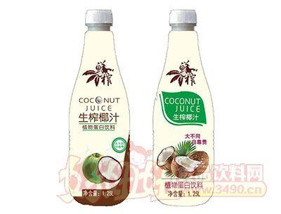 生榨椰汁植物蛋白饮料1.25L
