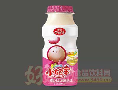 如恩小奶宝乳酸菌草莓味100ml