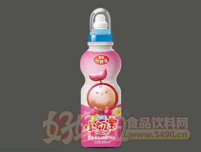 如恩小奶宝乳酸菌草莓味200ml