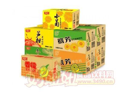 鹭芳系列茶饮料箱