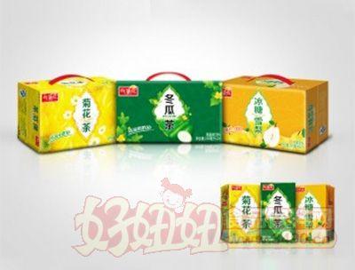 找茶族清凉系列茶饮料箱