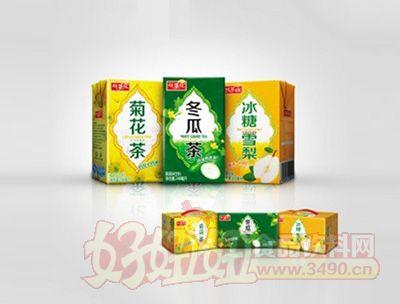 找茶族清凉系列茶饮料
