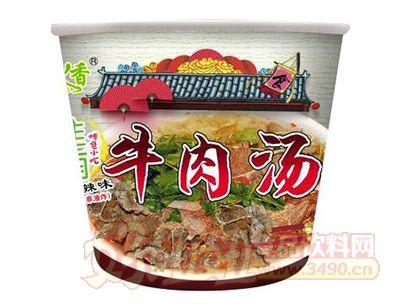 宜人香麻辣味牛肉汤桶装