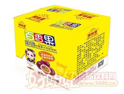 维他星鲜榨百香果汁风味饮料1.5lx6瓶