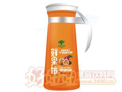淇果庄园鲜果坊百香果汁1.5l