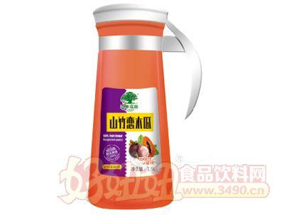 淇果庄园山竹木瓜汁1.5l瓶