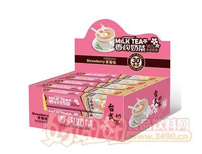 香约草莓奶茶630g