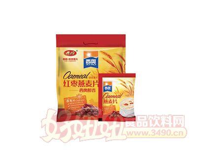 西奥560克红枣燕麦片