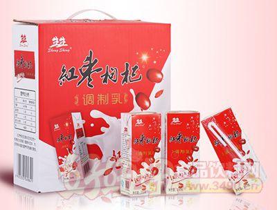 生生红枣枸杞调制乳250ml×12盒