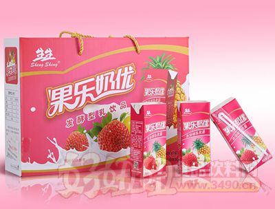 生生果乐奶优发酵型乳饮品