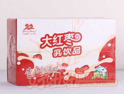 生生大红枣酸牛奶乳饮品箱装